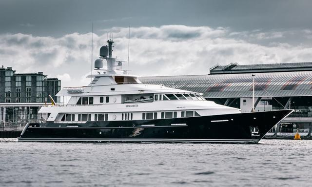 superyacht broadwater fresh from refit