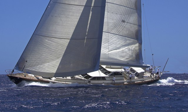 Sailing yacht MARAE cruising in the British Virgin Islands