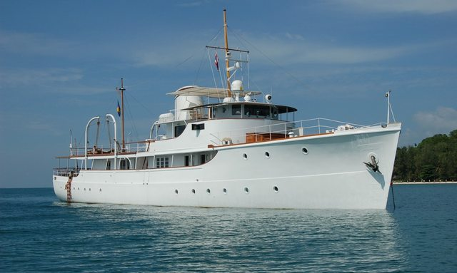 M/Y CALISTO Lowers Charter Rate for Thailand