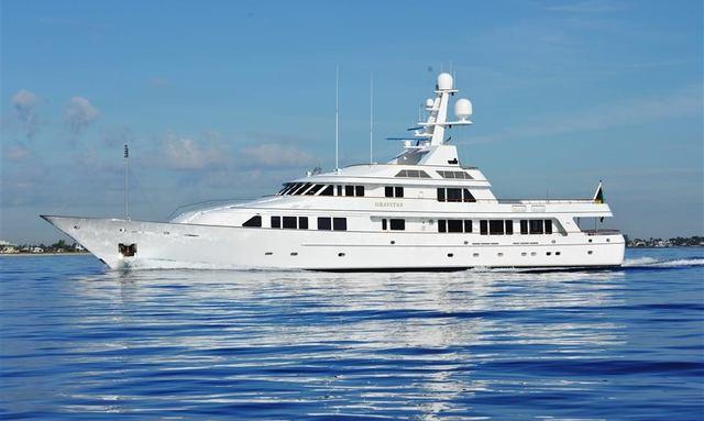 Christmas Charter Available on Superyacht GRAVITAS