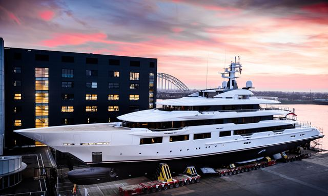 Oceanco unveils 90m M/Y DREAMBOAT, formerly Y716