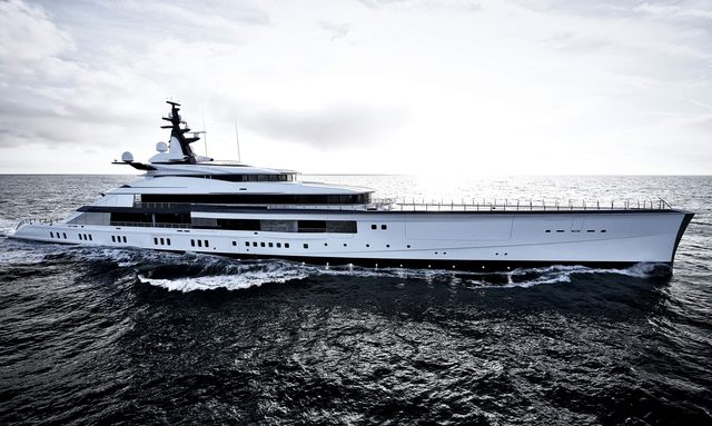 Bravo Eugenia yacht profile shot