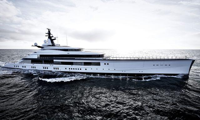 Bravo Eugenia yacht profile shot