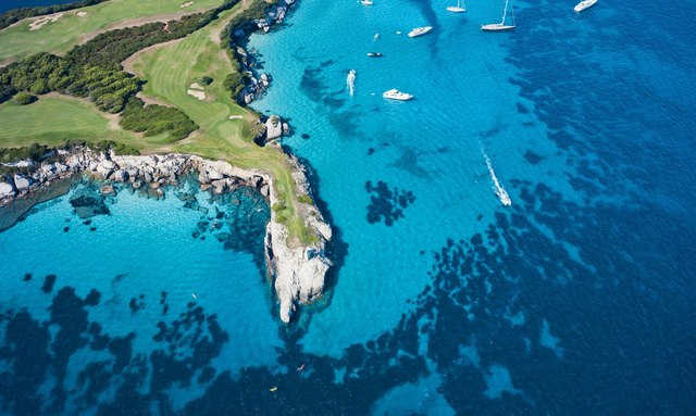 Superyacht Golf Vacations in the Mediterranean