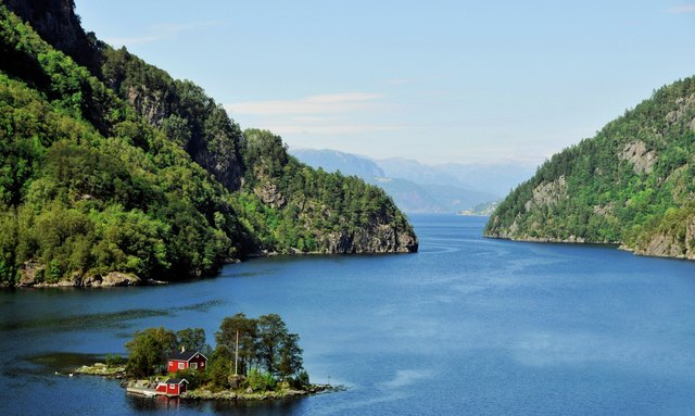 Norway fjords idyllic charter destination