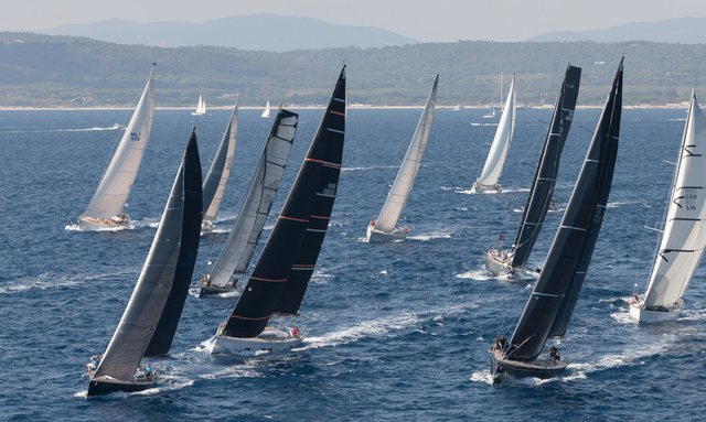 Racing at Les Voiles de Saint-Tropez