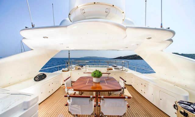 First look inside newly refitted M/Y LIBERTAS