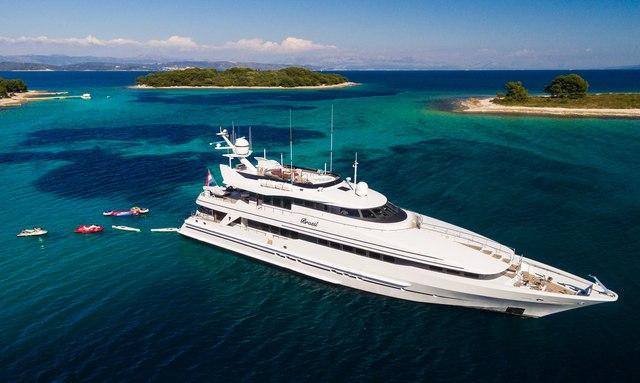 heesen luxury yacht brazil
