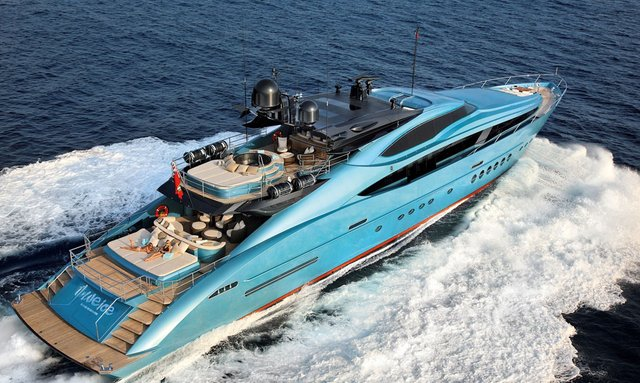 M/Y 'Blue Ice' to attend MYS 2013