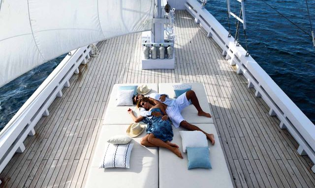 S/Y ALEXA Opens for Charters for Two in Indonesia