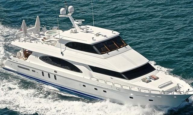 Motor Yacht Restless cruising in Turkey
