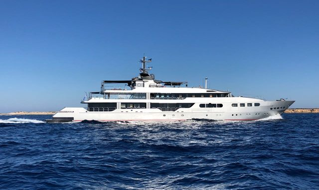 M/Y 'Magna Grecia' rejoins the charter fleet with brand new look
