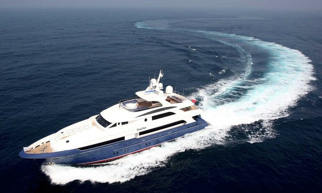 Lady Leila charter yacht cruising in the Bahamas