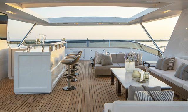 sundeck on rania yacht