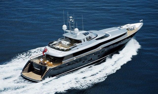Superyacht POLLY Cruising in the Caribbean