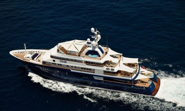 POLAR STAR cruising in the Mediterranean