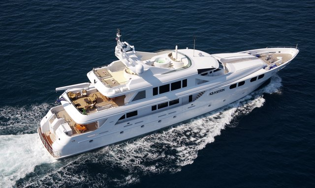LADY M charter in the Bahamas
