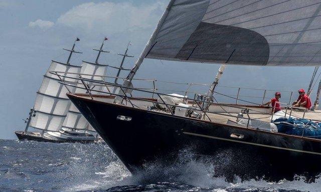 Sailing yachts St Barths Bucket