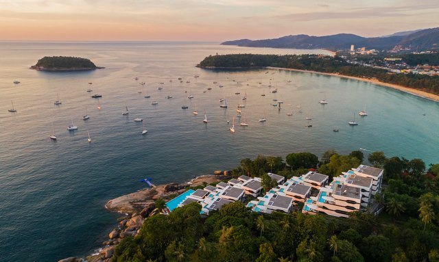 Superyachts head to Thailand for Kata Rocks Rendezvous