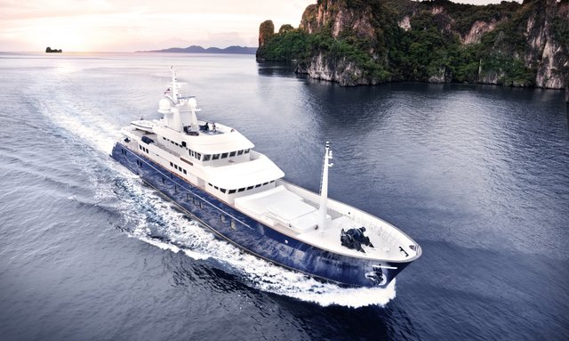 Superyacht 'Northern Sun' on charter cruising in South East Asia