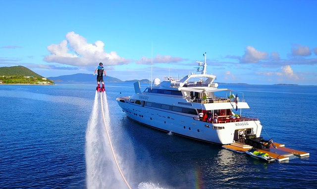 M/Y MIRAGGIO offers special deal on Bahamas yacht charters