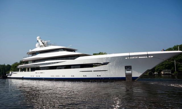 Feadship M/Y JOY Departs From Shipyard