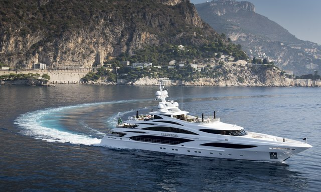 M/Y 'Illusion V' available for Caribbean charter in 2020