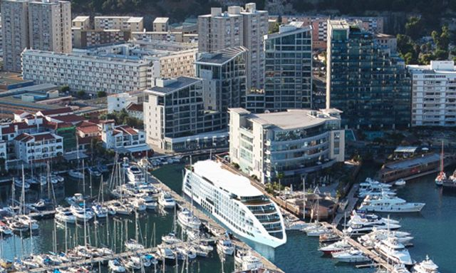 SUNBORN GIBRALTAR Yacht Hotel to be docked permanently in Ocean Village Marina