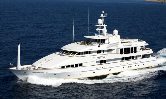 Superyacht PEGASUS Available for New Year's Charter in the Red Sea