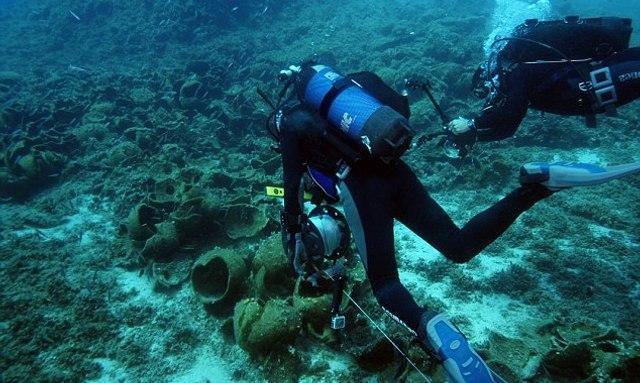 Divers discover ancient shipwrecks around Fourni in Greece