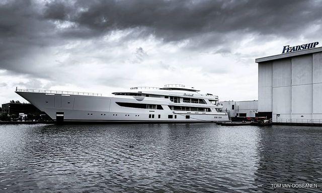 luxury yacht boardwalk