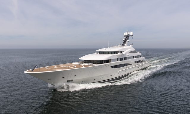 M/Y ARETI To Make Debut At Monaco Yacht Show