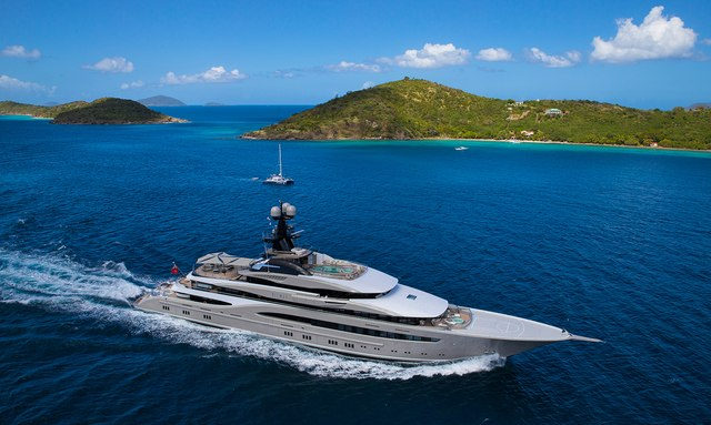 10 of the top charter yachts at the Monaco Yacht Show 2018