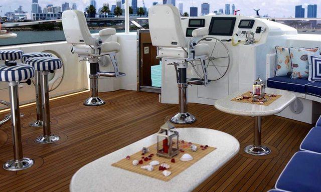 M/Y 'Frisky Lady' Joins Charter Fleet Following Refit