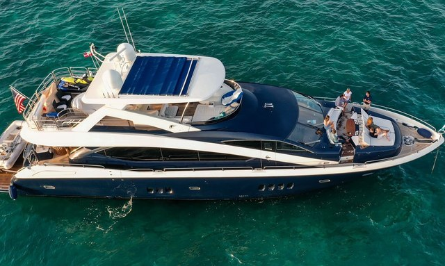 Recently refitted 27m motor yacht THE CABANA available for New England charters