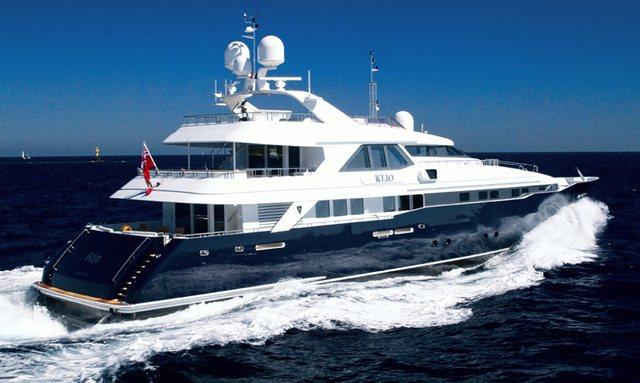 M/Y KIJO Joins The Global Charter Fleet