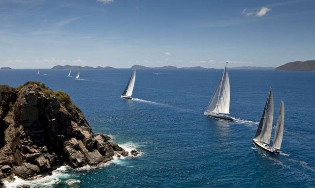 Perini Navi  To Sponsor the Loro Piana Caribbean Again This Year