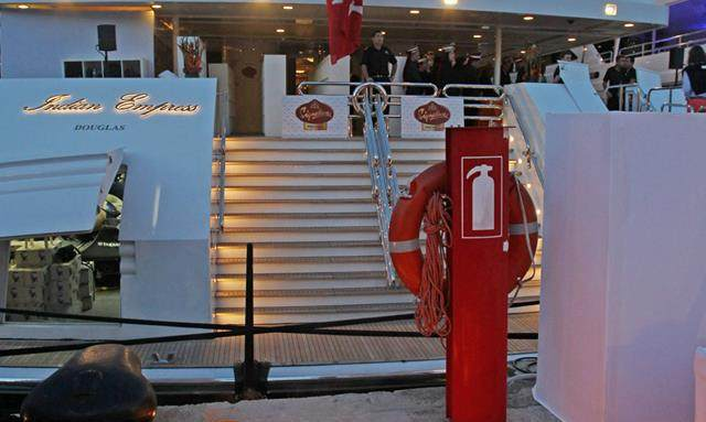 F1 Party on Biggest Yacht at Monaco GP