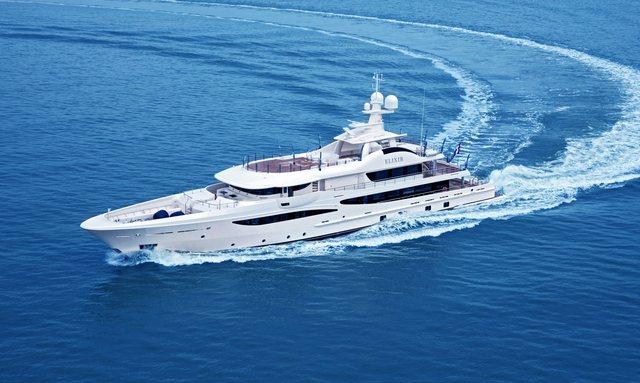 M/Y ELIXIR Joins the Mediterranean Charter Fleet