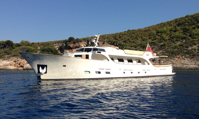 M/Y 'Conquest of 1966' Joins The Charter Fleet