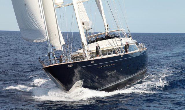 'SILENCIO' Gets New Set of Sails For Perini Cup