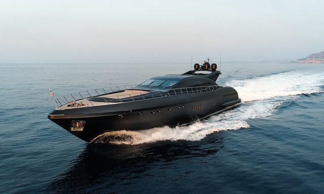 Mangusta superyacht NEOPRENE available for charter in the Bahamas