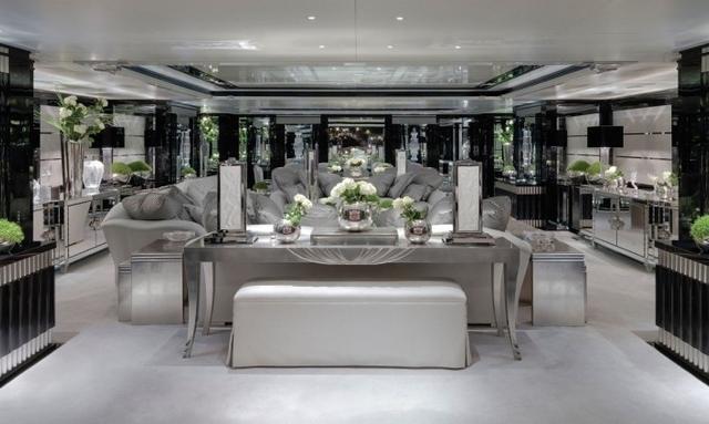 Ultra modern decor on Silver Angel