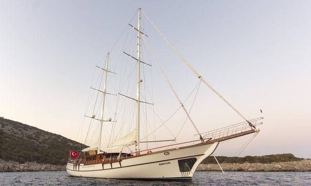38m sailing yacht BABYLON refitted and fresh for East Mediterranean charters