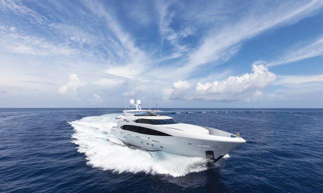 M/Y 'Finish Line' Joins Charter Fleet