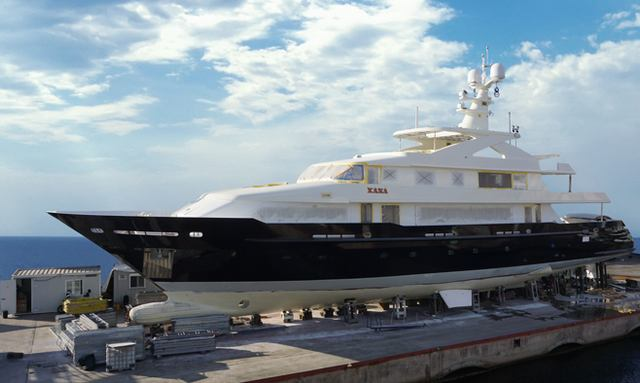 Newly refitted 45m XANA set for Mediterranean yacht charters