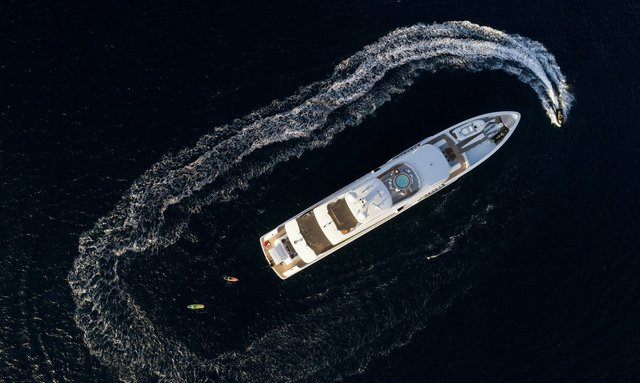 Charter M/Y LAURENTIA in the Caribbean over the holidays