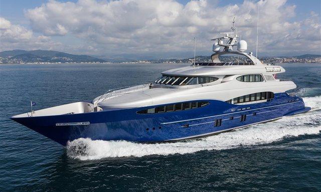 M/Y Hatt Mill Joins Charter Fleet