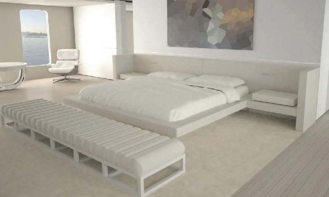 Split level master suite on Air
