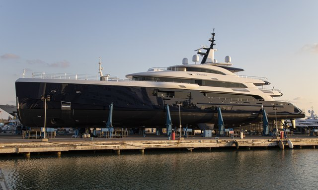 Benetti launches 66m superyacht ZAZOU